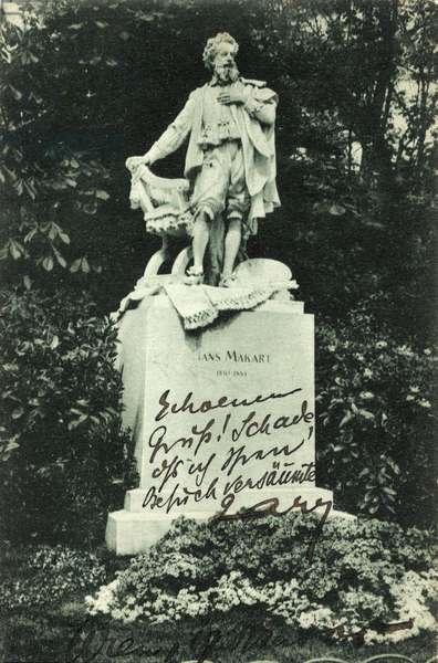 Hans Makart - statue