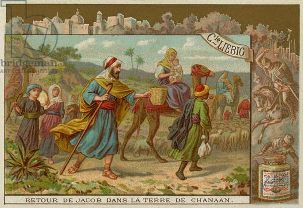 Jacob returning to Canaan
