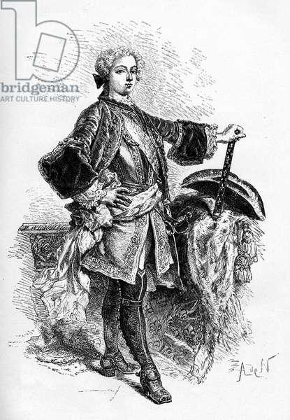 King Louis XV of