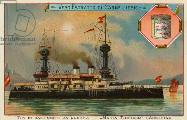 An Austrian war ship.