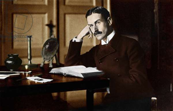Thomas Mann as a young man