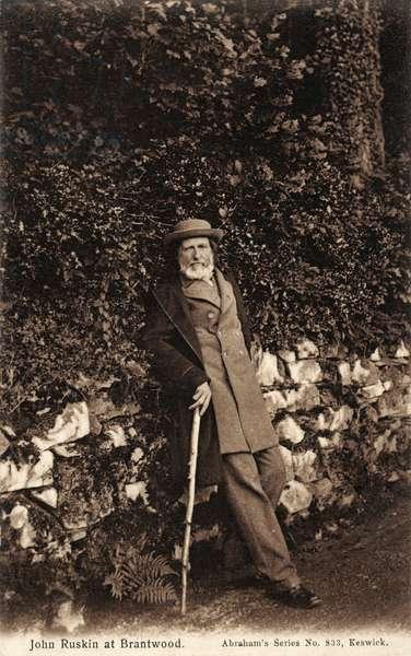 John Ruskin at Brantwood
