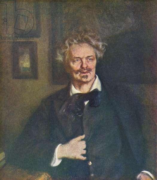 August Strindberg portrait Swedish