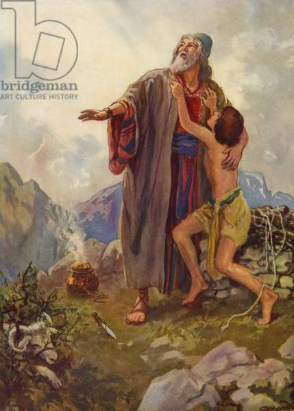 Cain and Abel make their offerings to God