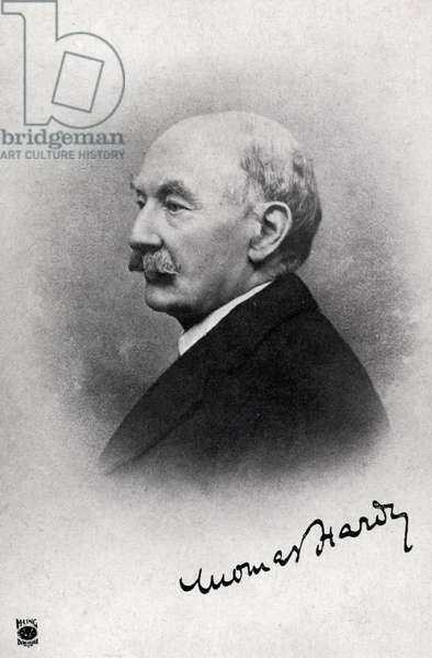 Thomas Hardy portrait of