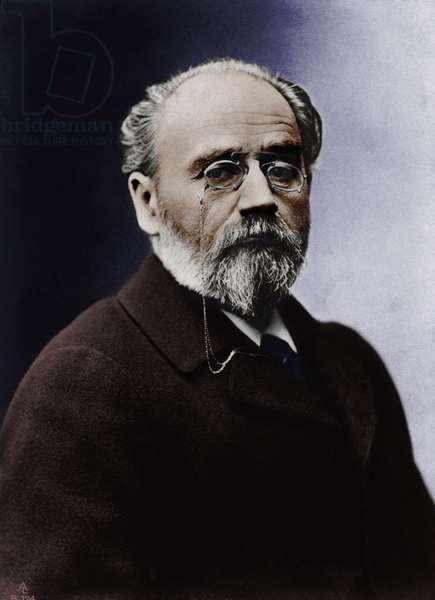 Emile Zola - portrait