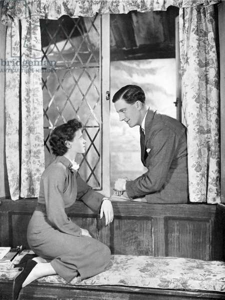 Harold Warrender and Jessica Tandy