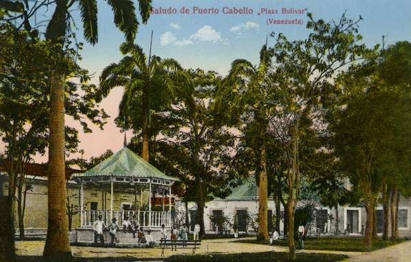 Puerto Cabello, Bolivar Square, Bogota, Venezuela