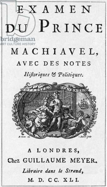 Title page of Frederick