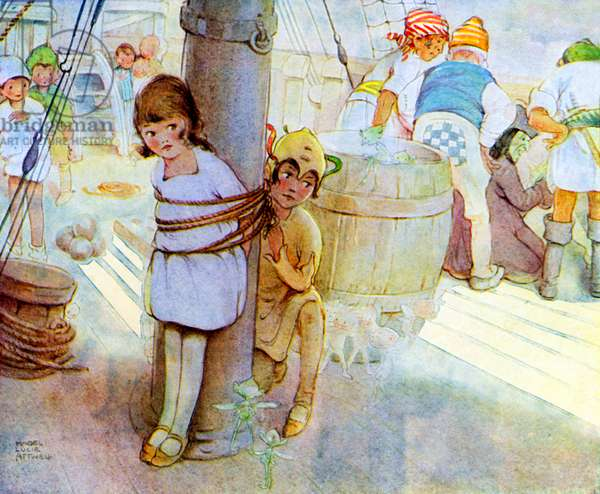 Peter Pan - illustration by Mabel Lucie Attwell