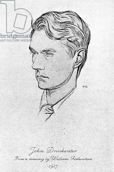 John Drinkwater - portrait