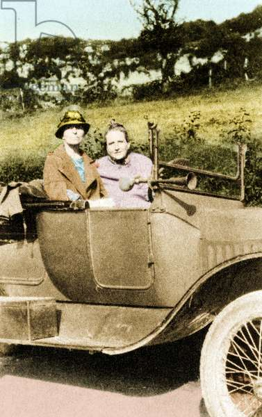 Gertrude Stein and Alice Toklas c. 1927