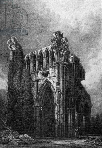 Dryburgh Abbey - situated