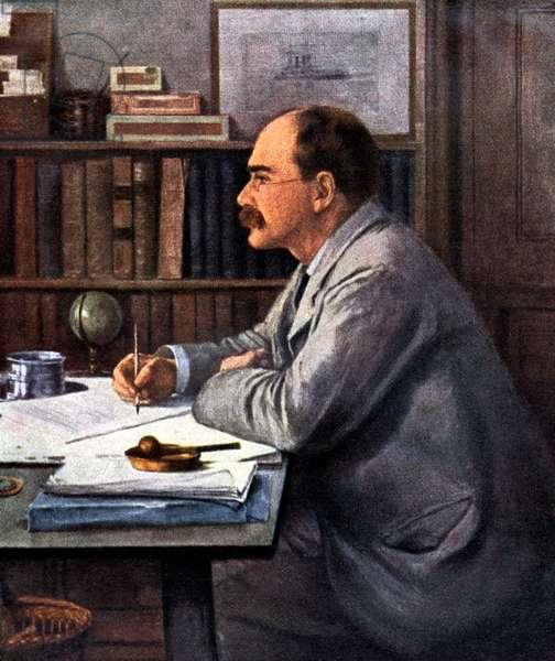 Rudyard Kipling - portrait