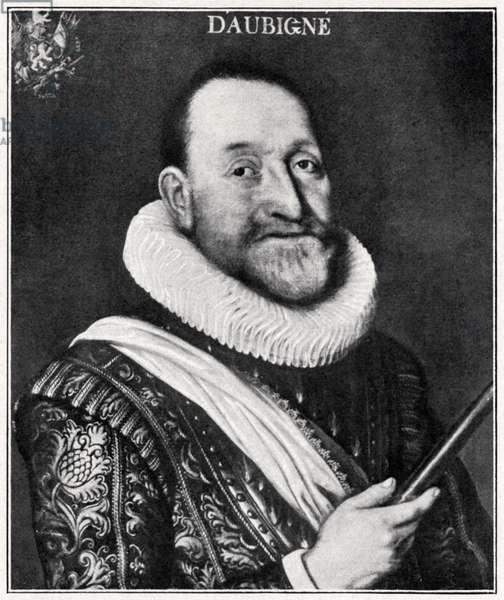 Portrait of Théodore Agrippa
