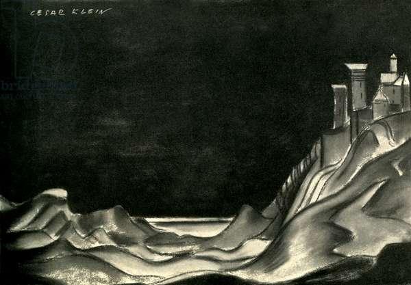 Pelleas und Melisande, after Cesar Klein