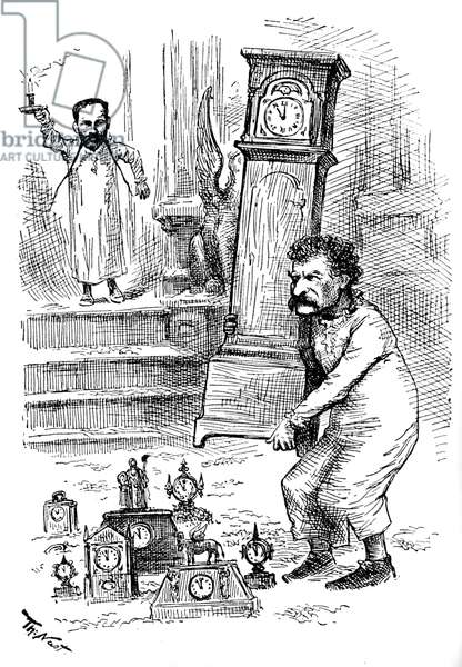 Mark Twain and the Clocks