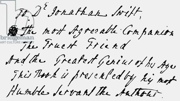 Joseph Addison's - signed