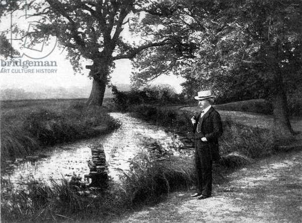 Mark Twain at Dollis Hill