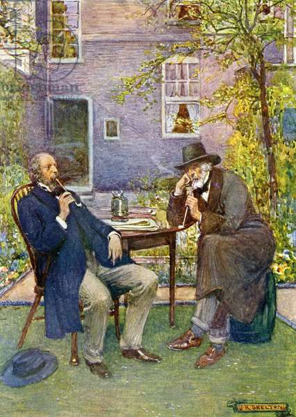 Carlyle and Tennyson
