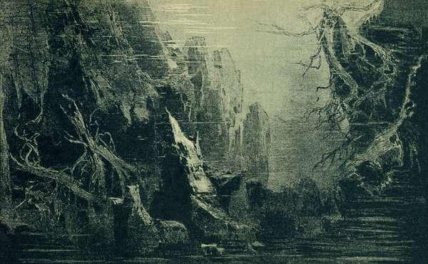 Richard Wagner 's Rheingold Act I Scene I