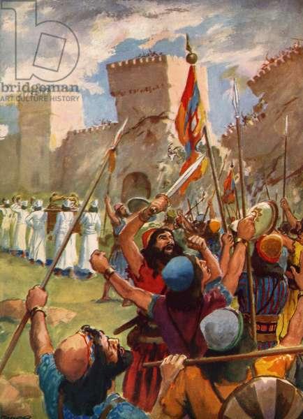 The battle of Jericho