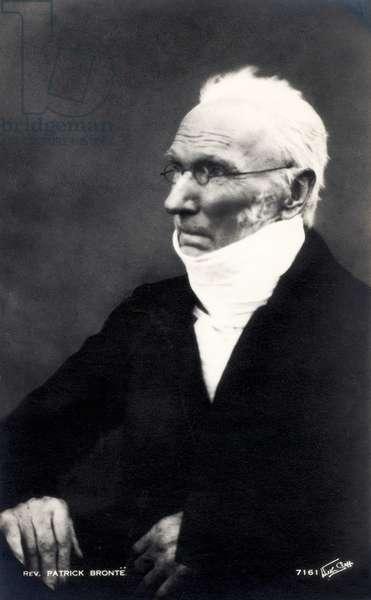 Reverend Patrick Bronte portrait