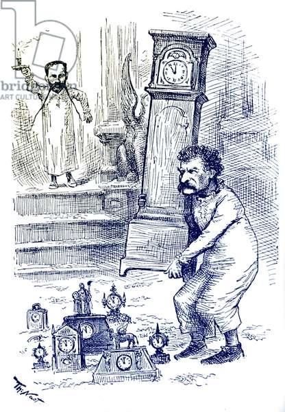 Mark Twain and the Clocks