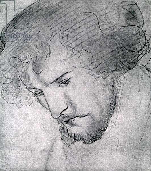 William Morris by Rossetti