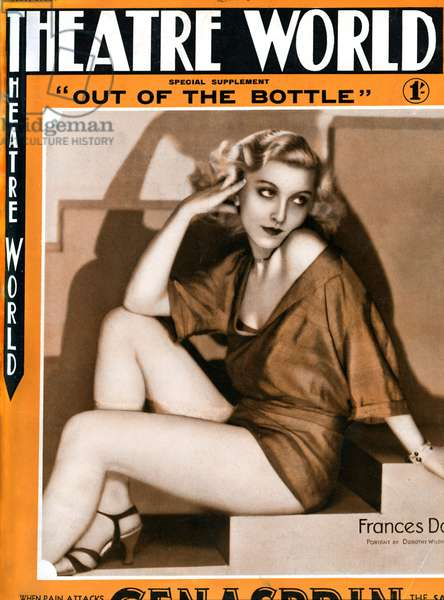 Frances Day (Molly Harper) in ' Out of the Bottle