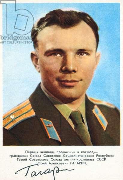 Yuri Gagarin - signed