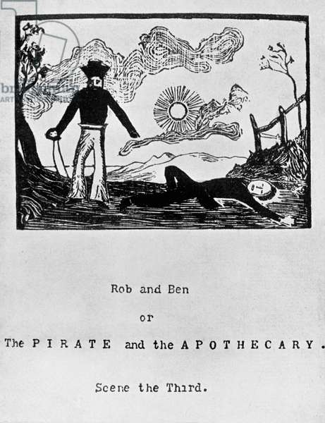 Title page of scene