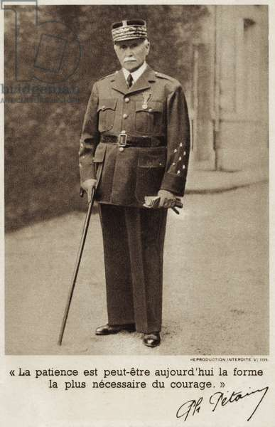 Marshal Pétain - French