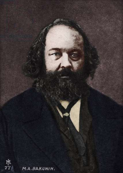 Mikhail Alexandrovich Bakunin - Russian anarchist
