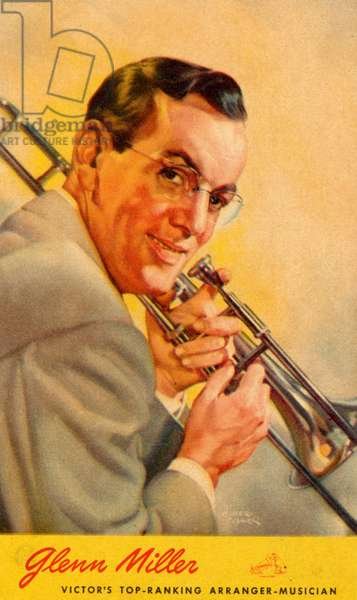 Glenn Miller portrait with