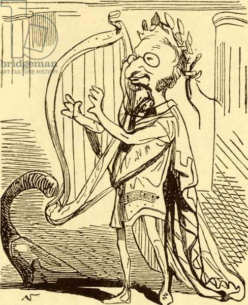 Jacques OFFENBACH as Orpheus