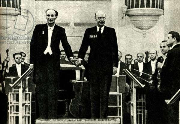Sergei Prokofiev and Yevgeny