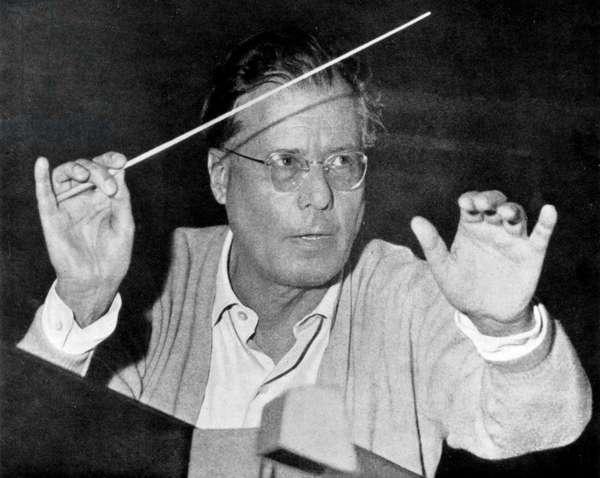 Böhm Karl conducting the