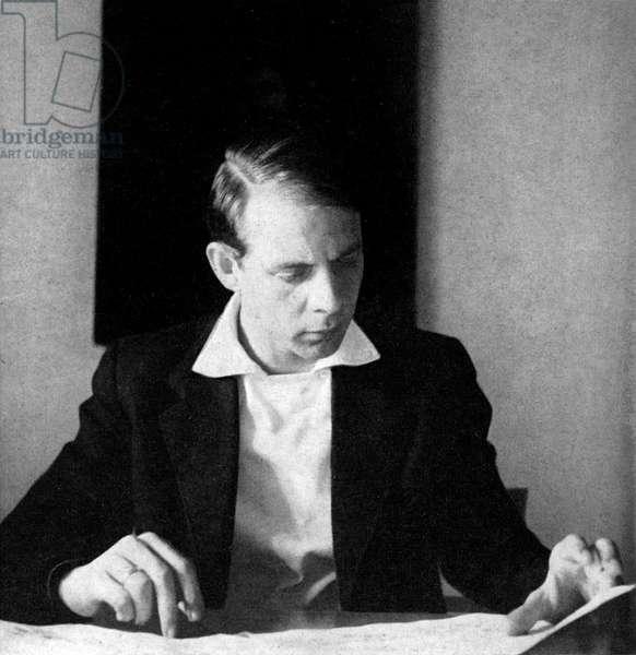 Karlheinz Stockhausen - portrait