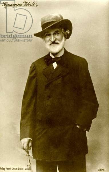 Giuseppe Verdi portrait of