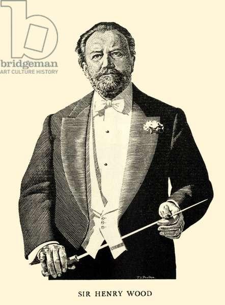 Sir Henry Wood portrait