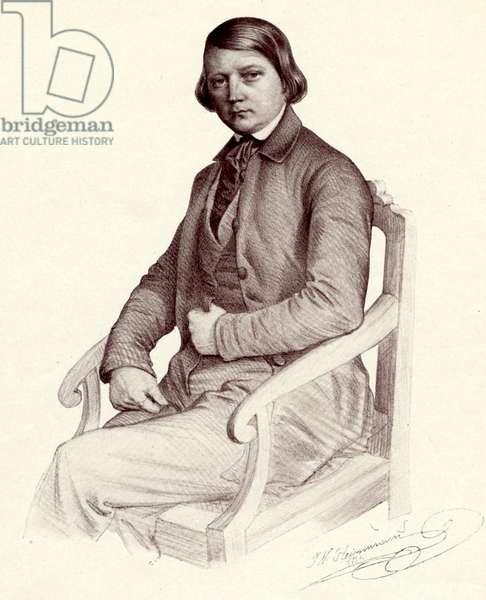 Robert SCHUMANN - portrait