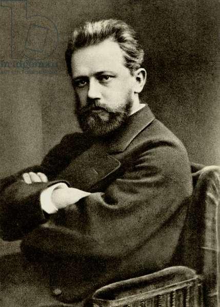 Tchaikovsky in 1874 Russian