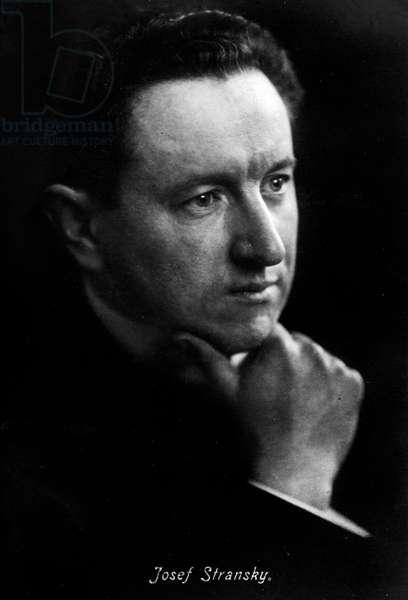 Josef Stransky - portrait