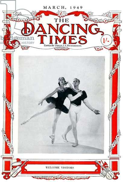 Alexandra Danilova and Frederic Franklin