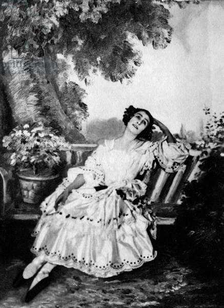 Matilda Kschessinska in Le Carnaval