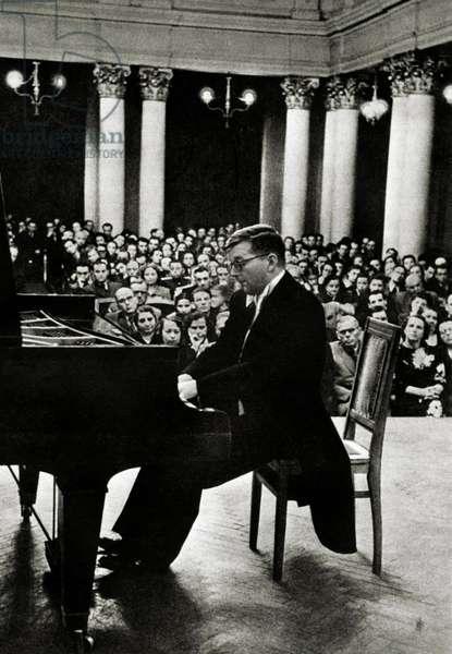 Dmitri Shostakovich in 1951