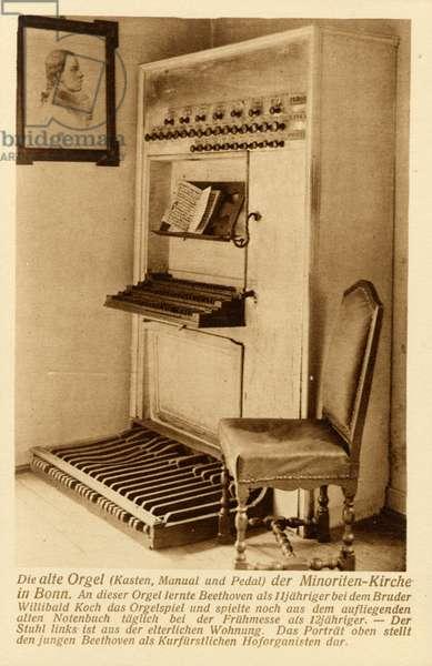 Ludwig van Beethoven's organ
