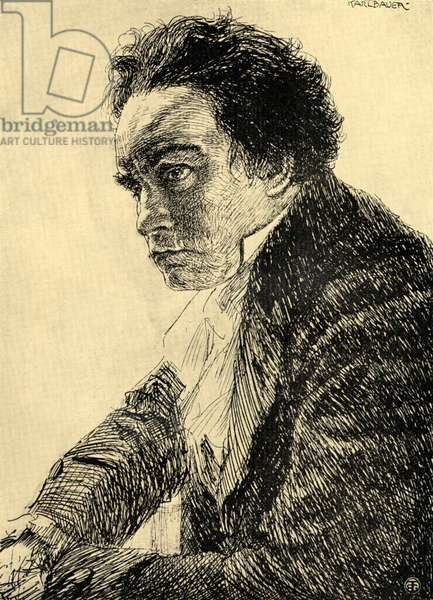 BEETHOVEN drawing