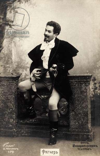 Nicolai Figner portrait In